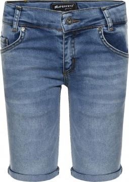 Super Stretch Jeans in Bermuda Länge in Medium Blue Washed für Boys von BLUE EFFECT 4700