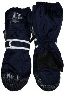 Skihandschuhe / Fausthandschuhe mit langer Stulpe, in NAVY, reflektierend, BW Futter von MAXIMO