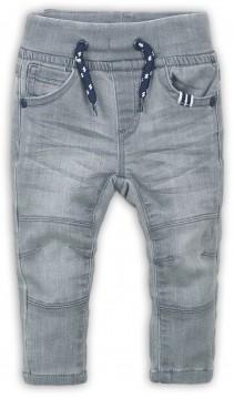 Mega Stretchige Jogg Pants / Jeans in Steingrau mit Waschung & Schlupfbund von DIRKJE 36473