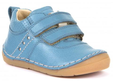 Klett Halbschuhe, Flexsohle, Glattleder für hohen Spann & breitere Füße JEANS von FRODDO 30190