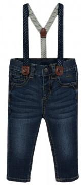 Coole Jeans in Dark Blue mit abnehmbaren Hosenträgern - Regulär Fit - von MAYORAL 2544