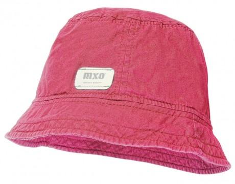 Schlichter leichter Sonnenhut aus BW Canvas UPF 30 mit Waschung, in Pink von MAXIMO 928500