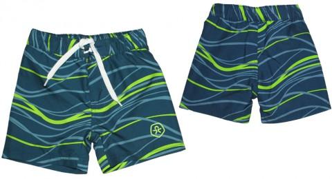 Boardshorts / Badeshorts in Jeansblau für Boys von COLOR KIDS Modell: BLYTHE