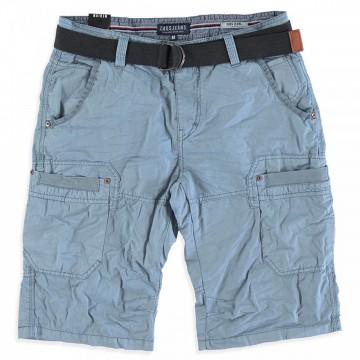 Derbe Bermuda Shorts aus BW Twill in Stone Grey mit Cargotaschen von CARS JEANS 3104373