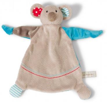 Schmusetuch / Schnuffeltuch aus weichem Nicki Plüsch Modell: Koala von NICI 39674