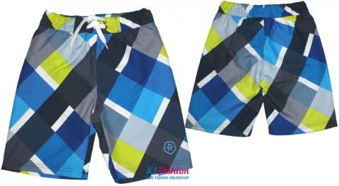 Boardshorts / Badeshorts Rautenmuster für Boys von COLOR KIDS Modell: BUNBERRY