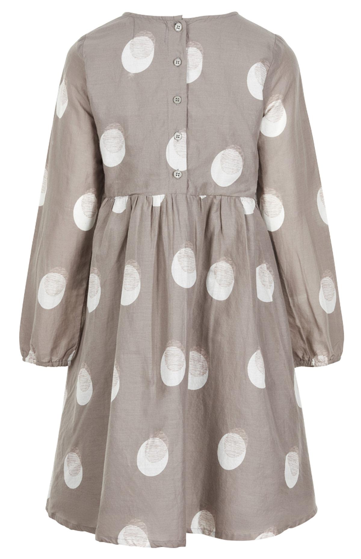 Creamie, Kleid, Langarm Kleid, Knielang, Grau,... | KJ-Fashion
