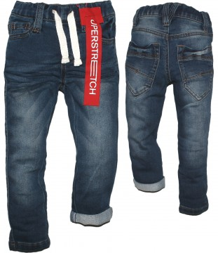 Mega weiche Schlupfjeans Boys, Superstretch in Medium Blue, Weite REG von s.OLIVER 0513