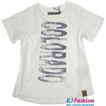 Logoprint Shirt in Weiß KARINA von COLORADO