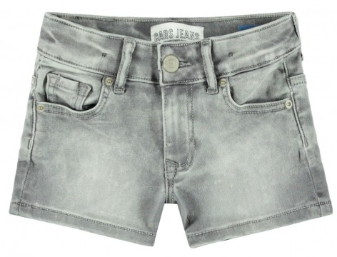 Super Stretch Hot Pants aus weichem Denim in Grey Used für Girls von CARS JEANS 3113713