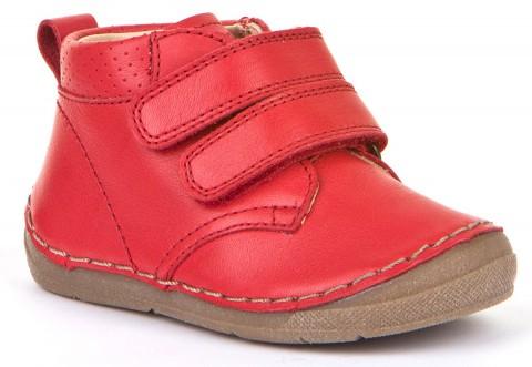 Klett Halbschuhe, Flexsohle, Glattleder für hohen Spann & breitere Füße ROT von FRODDO 30207-11