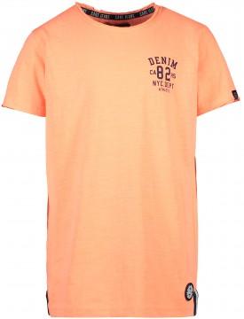 Knallig Neon Oranges T-Shirt Kurzarm aus 100% BW für Boys von CARS Jeans 3127032