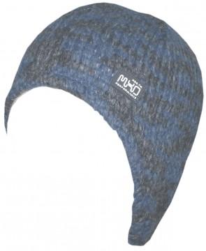 Wintermütze aus dickem Woll Strick mit Fleece Futter & Ohrenausarbeitung von MAXIMO 258600