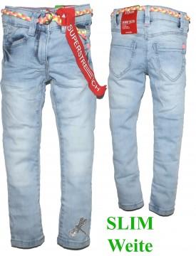 Super Stretch Denim in Blue Bleached Weite SLIM - Schnitt: Skinny Kathy von S.OLIVER 3414