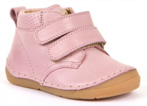 Klett Halbschuhe, Flexsohle, Glattleder für hohen Spann & breitere Füße ROSA von FRODDO 30188