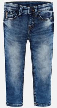 Super softe & stretchige Slim Fit Jeans in Medium Blue, Stoned Wash von MAYORAL 3534