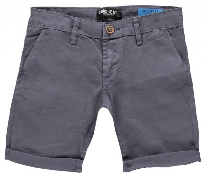 Coole Twill Shorts in Steingrau Chino Schnitt von CARS JEANS Modell Tino 3336817