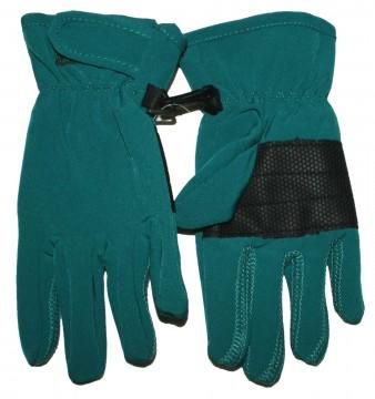 Softshellhandschuhe / Fingerhandschuhe in Petrol, flexibel, Fleece Futter, Atmungsaktiv von MAXIMO