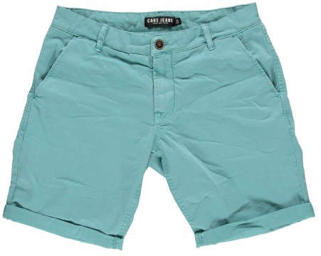 Coole Twill Shorts in Mint im Chino Schnitt von CARS JEANS Modell Tino 3336871