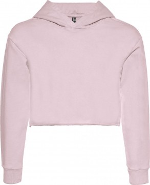 Schlichtes Boxy Sweat / Hoodie aus BW Sweat in Dusty Rose Used von BLUE EFFECT 5615