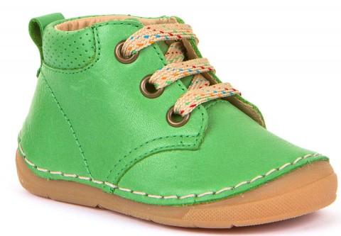 Halbschuhe,Schnürer, Flexsohle, Glattleder, hoher Spann & breitere Füße Grün von FRODDO G2130219-4