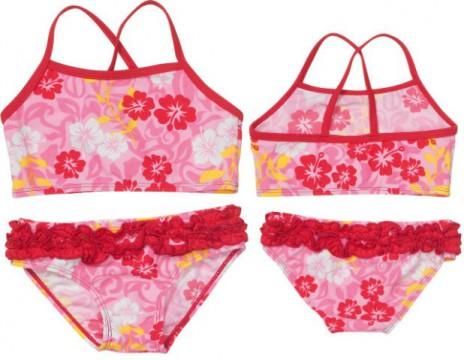 Bikini mit UV Schutz 80 HAWAII Pink von PLAYSHOES