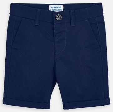 Schlichte Chino Shorts in Marine Blau, robuster Baumwoll Twill für Jungen von MAYORAL 202 fb56