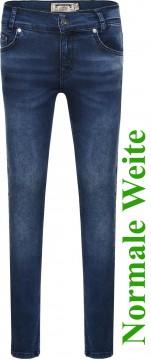 Stretch Jeans in Blue Denim, Slim Fitting (nicht zu eng) Bundweite: Normal von BLUE EFFECT 0233