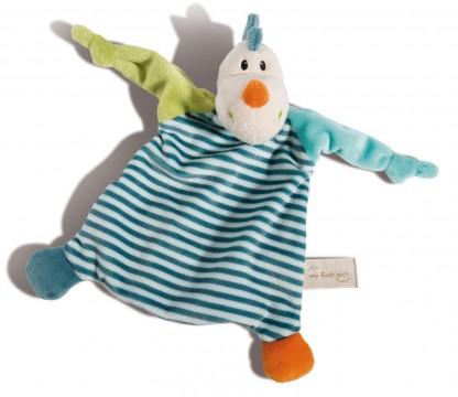 Schmusetuch / Schnuffeltuch aus weichem Nicki Plüsch Modell: DRACHE von NICI 43704