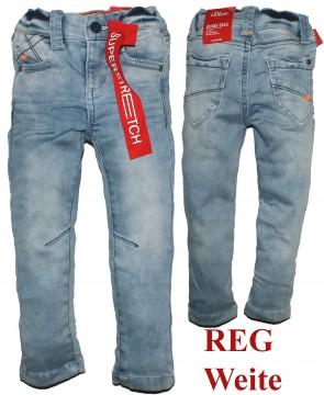 Super Strech Denim in hellem Stoned Blue Slim Fitting,Skinny Brad, Weite REG von S.OLIVER 3545
