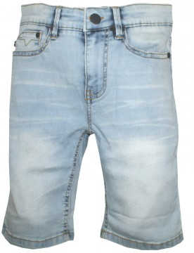 Super Stretch Jeans Bermuda in Blue Bleached von MAYORAL / Nukutavake 6242